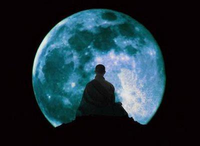 Meditation in Moon